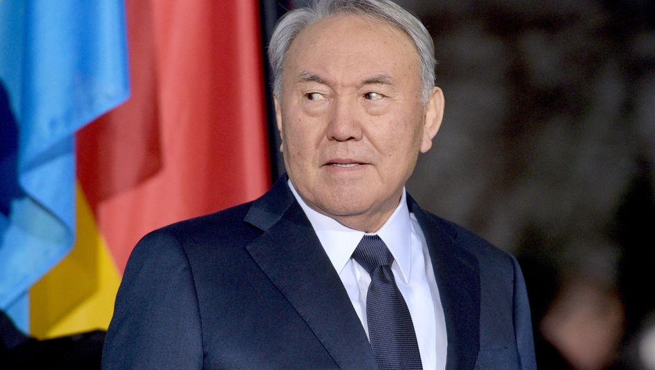 Kasachstans Diktator Nasarbajew: Seit 25 Jahren im Amt