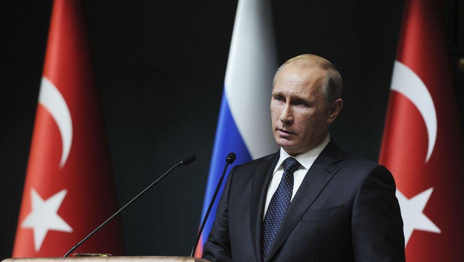 """Russlands Präsident Putin: Bulgarien """"die Möglichkeit genommen, sich wie ein souveräner Staat zu verhalten"""""""