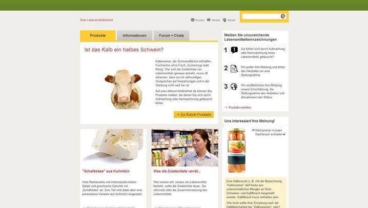 Aigner-Portal: Lebensmittel im Online-Test
