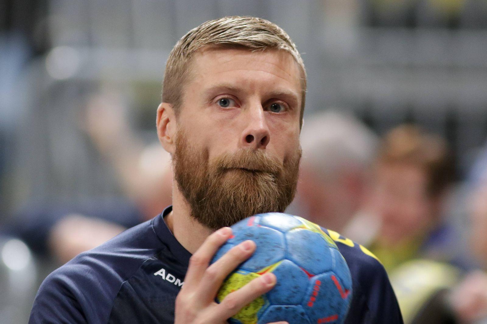 Gudjon Valur Sigurdsson (RNL, 9), Einzelbild, Aktion, Action, Porträt, Portrait, Handball, DKB Bundesliga, Rhein-Neckar