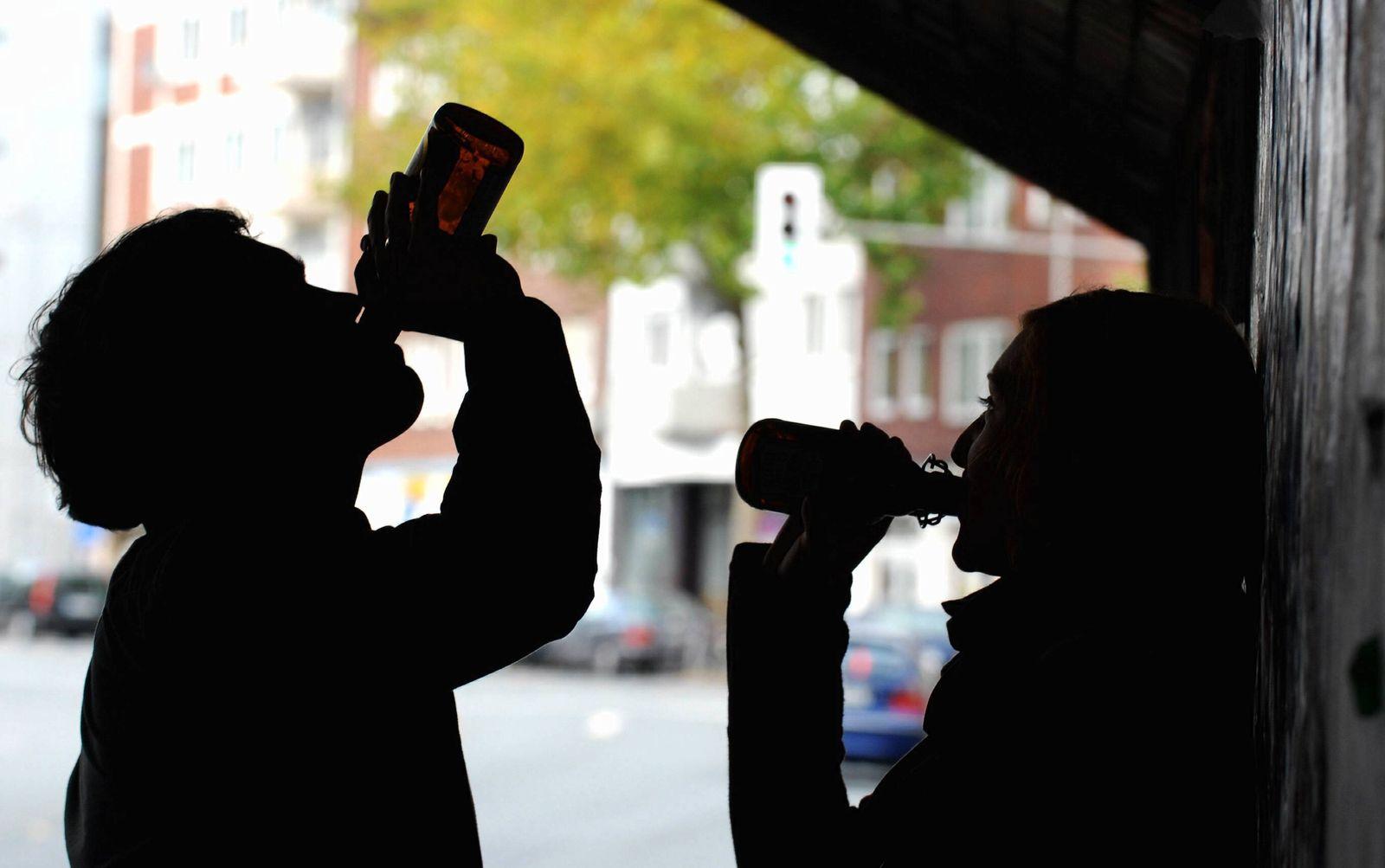 NICHT VERWENDEN Komasaufen / Alkohol