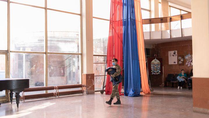 Geflüchtete aus Bergkarabach: Unterschlupf in Eriwan