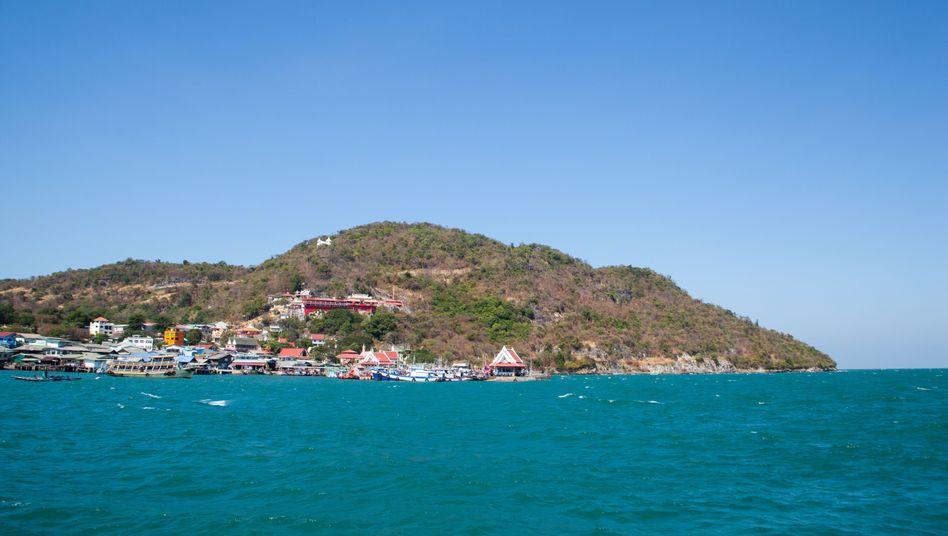 Insel Ko Si Chang in Thailand