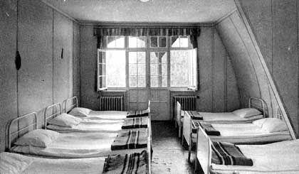 Schlafsaal in Haus Nummer zwei: Geständnisse unter der Bettdecke