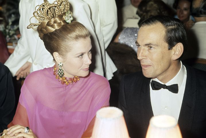 Barnard mit Monacos Fürstin Grace Kelly (1968): Den Reichen und Schönen immer nah