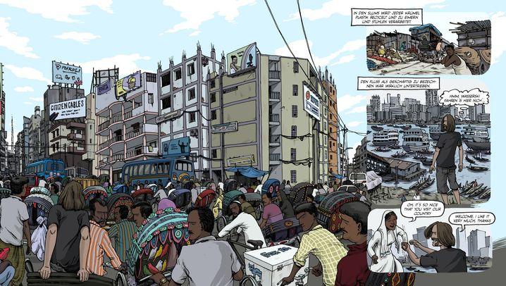 Weltreise-Comic: Was kostet ein Yak?