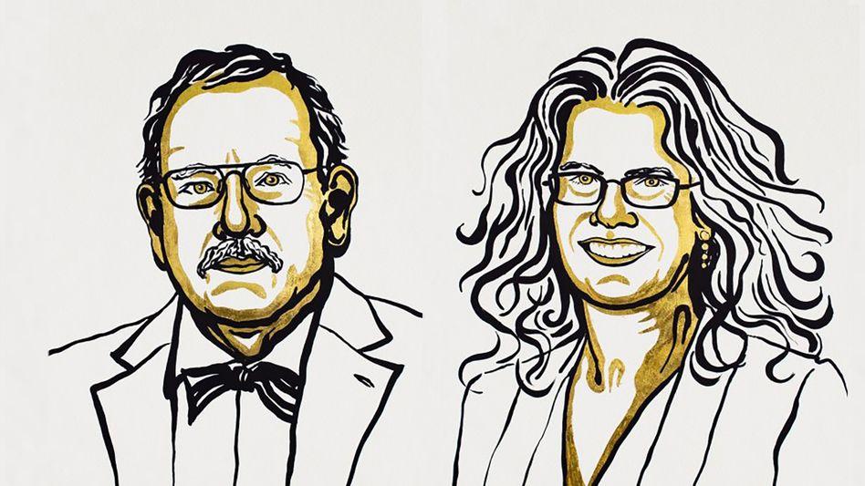 Zwei der Physik-Nobelpreisträger: Reinhard Genzel und Andrea Ghez