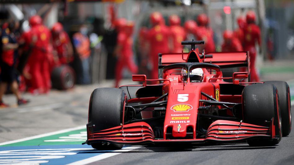 Sebastian Vettel startet in Österreich unerwartet weit hinten