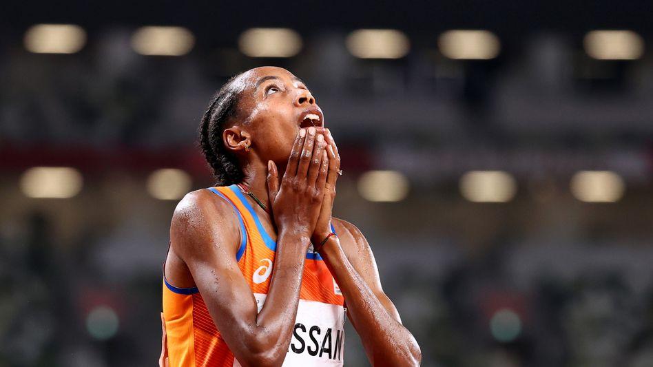 Triumph in Tokio: Es ist Sifan Hassans erste Olympiamedaille