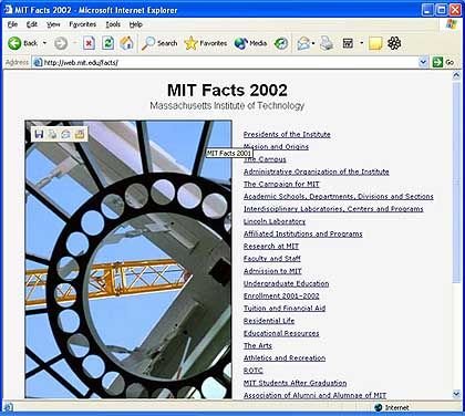 Homepage des MIT: Besonders hohe Suizidrate
