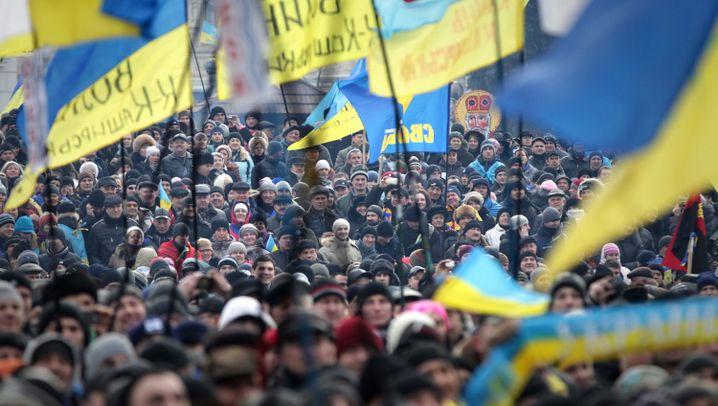 Großdemos in Kiew: Die Wut ist immer noch da