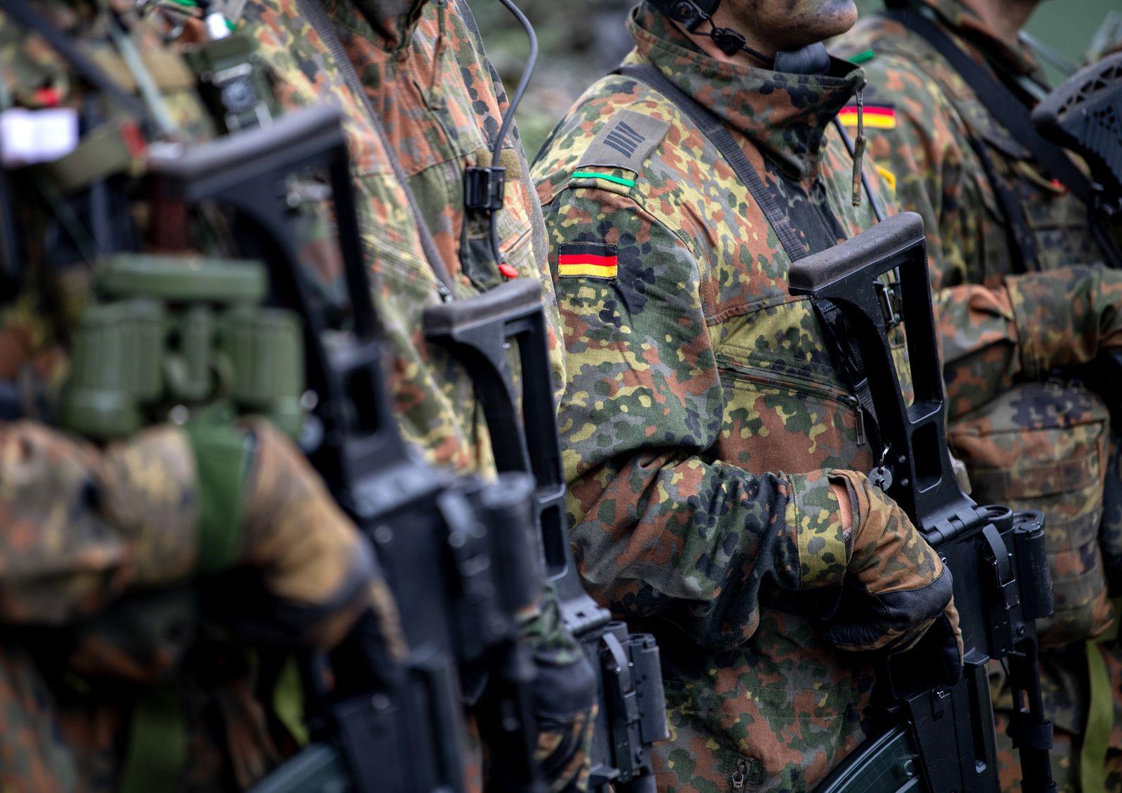 Deutsche Soldaten im NATO Einsatz