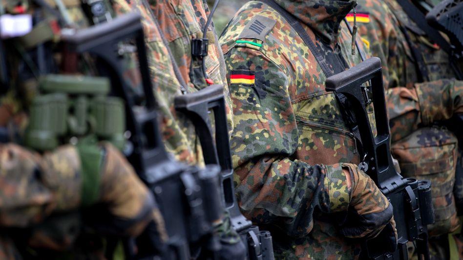 Problemfall Bundeswehr: Deutsche Soldaten der Enhanced Forward Presence (eFP) Battle Group in Litauen (Archivbild)