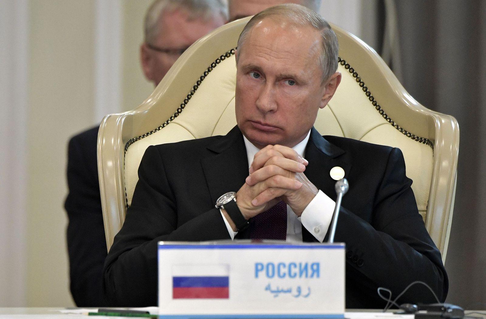 EINMALIGE VERWENDUNG Putin