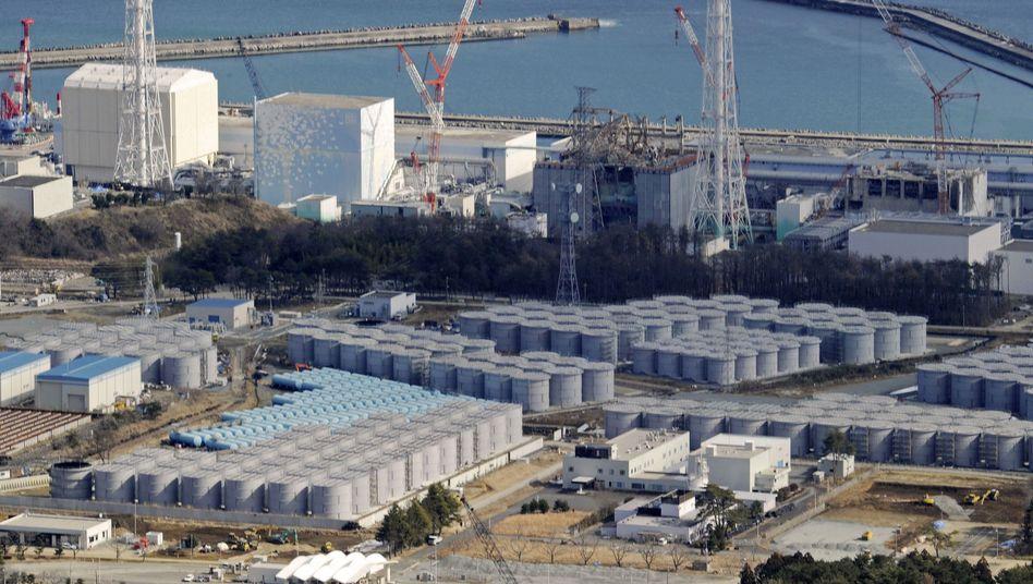 Radioaktive Baustelle: Tanks am AKW Fukushima sollen belastetes Grundwasser sicher speichern