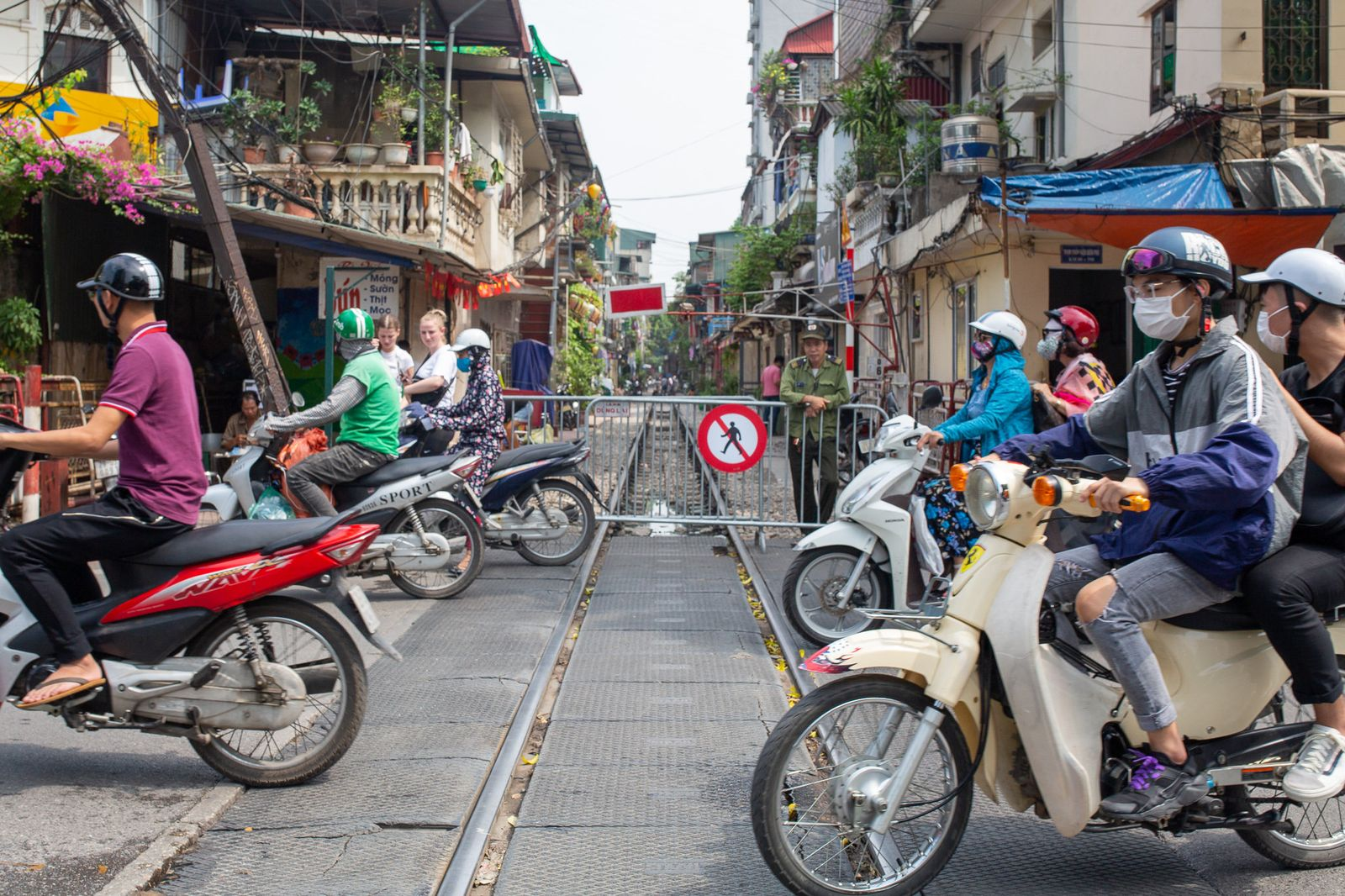 """""""Train Street"""" in Hanoi wird abgeriegelt"""