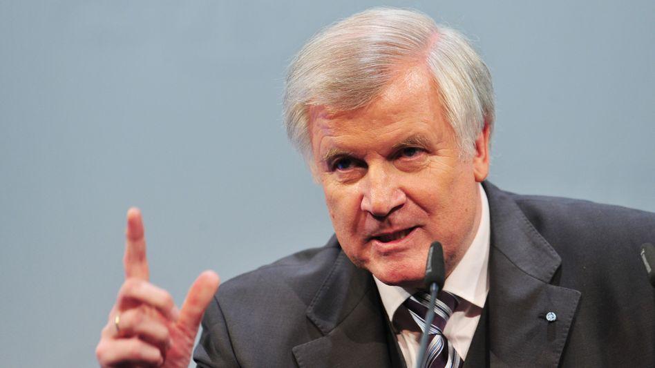 """CSU-Chef Seehofer: """"Austritt Griechenlands aus der Euro-Zone denkbar"""""""