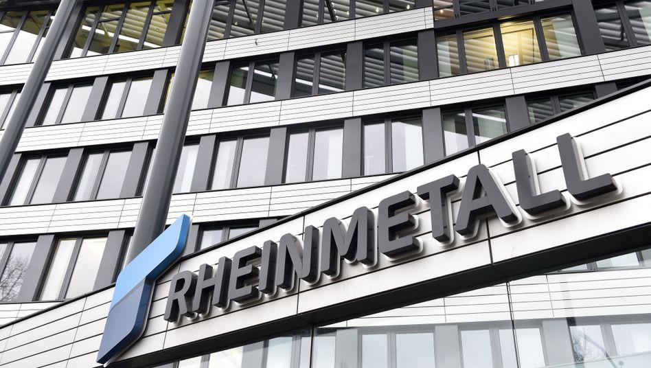 Rheinmetall-Zentrale in Düsseldorf: Millionenauftrag der Bundeswehr