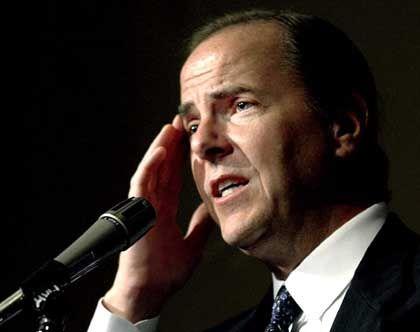 Früherer Enron-Chef Jeffrey Skilling: Während das Management verkaufte, mussten die Angestellten ihre Aktien halten