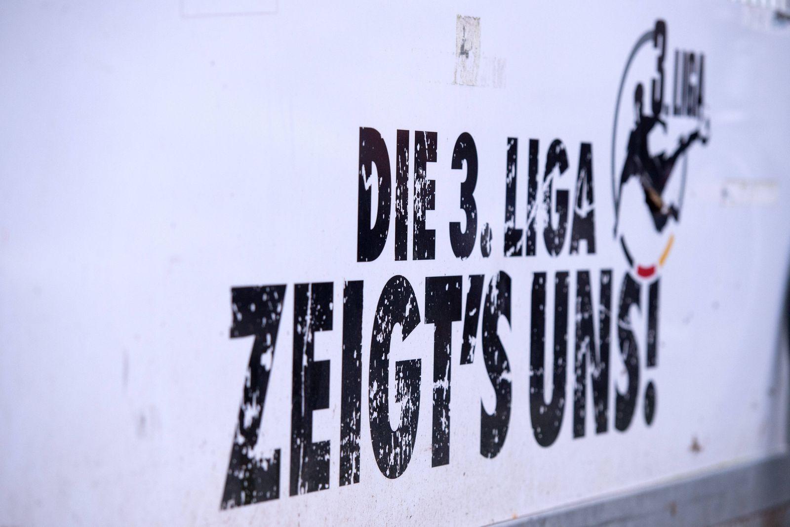Münster, Deutschland 21.12.2019: 3. Liga - 2019/2020 - SC Preußen Münster vs. TSV 1860 München Branding, Logo, Emblem d