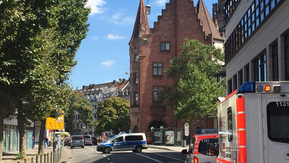 Polizei und Rettungsdienste in Saarbrücken