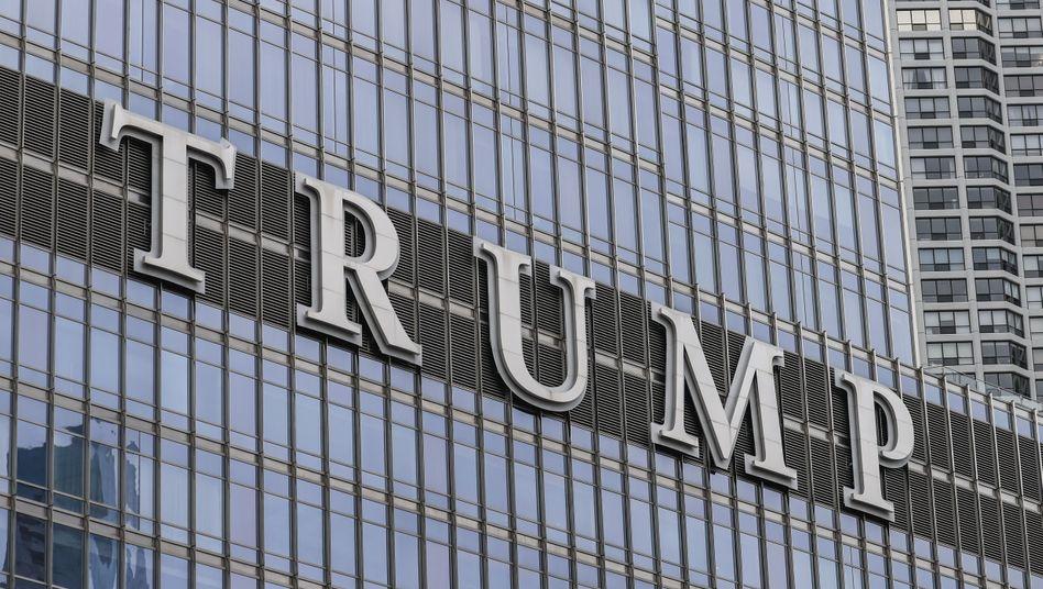 Trump-Gebäude in Chicago