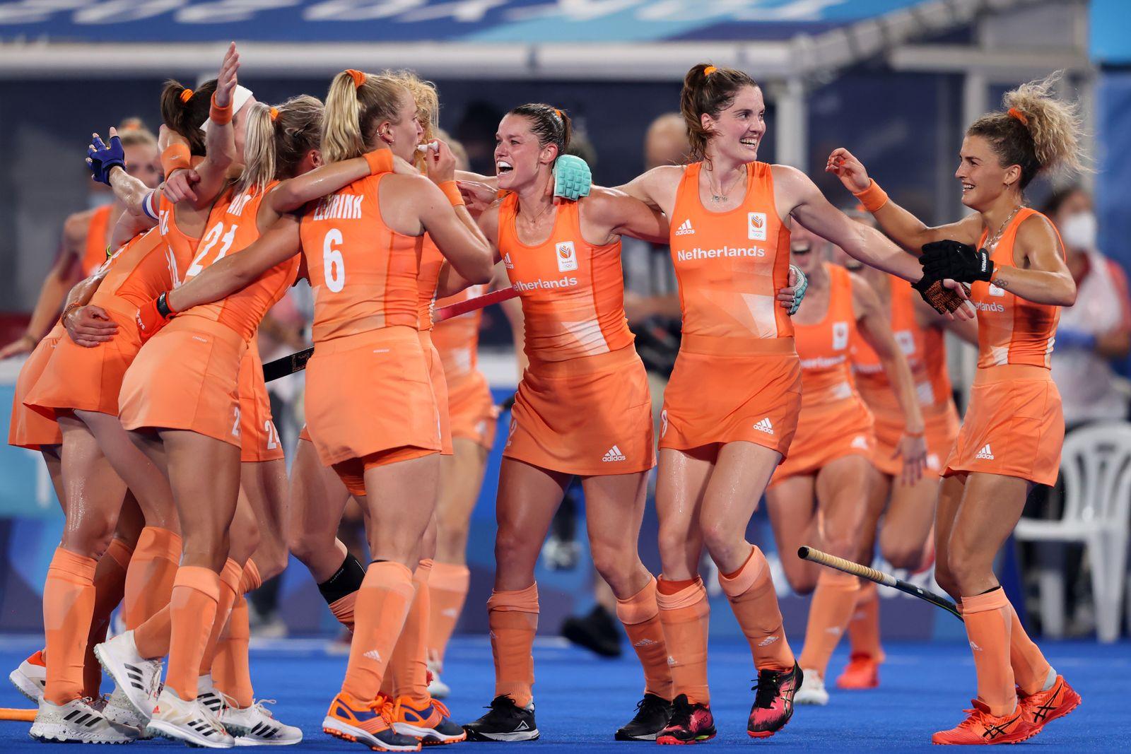 Netherlands v Argentina - Hockey - Olympics: Day 14