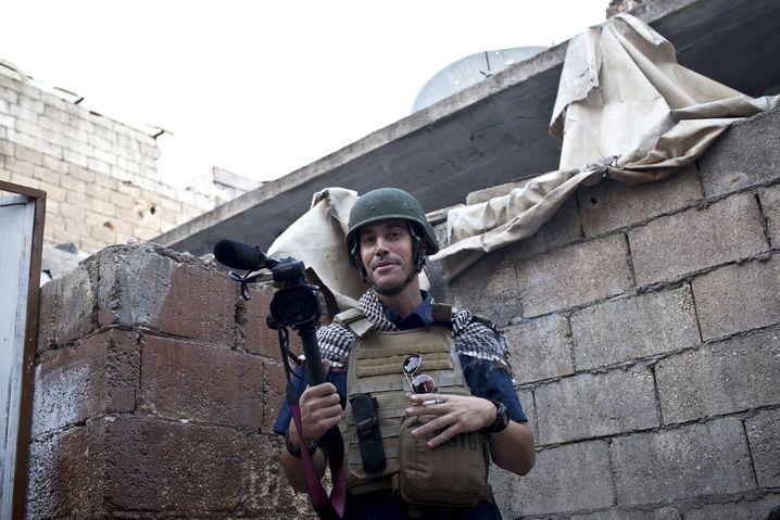 Foley im November 2012 in Aleppo: Offenbar von IS-Terroristen ermordet