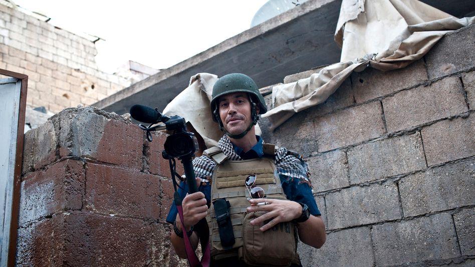 """""""Warm und gutherzig"""": James Foley kurz vor seiner Verschleppung 2012"""