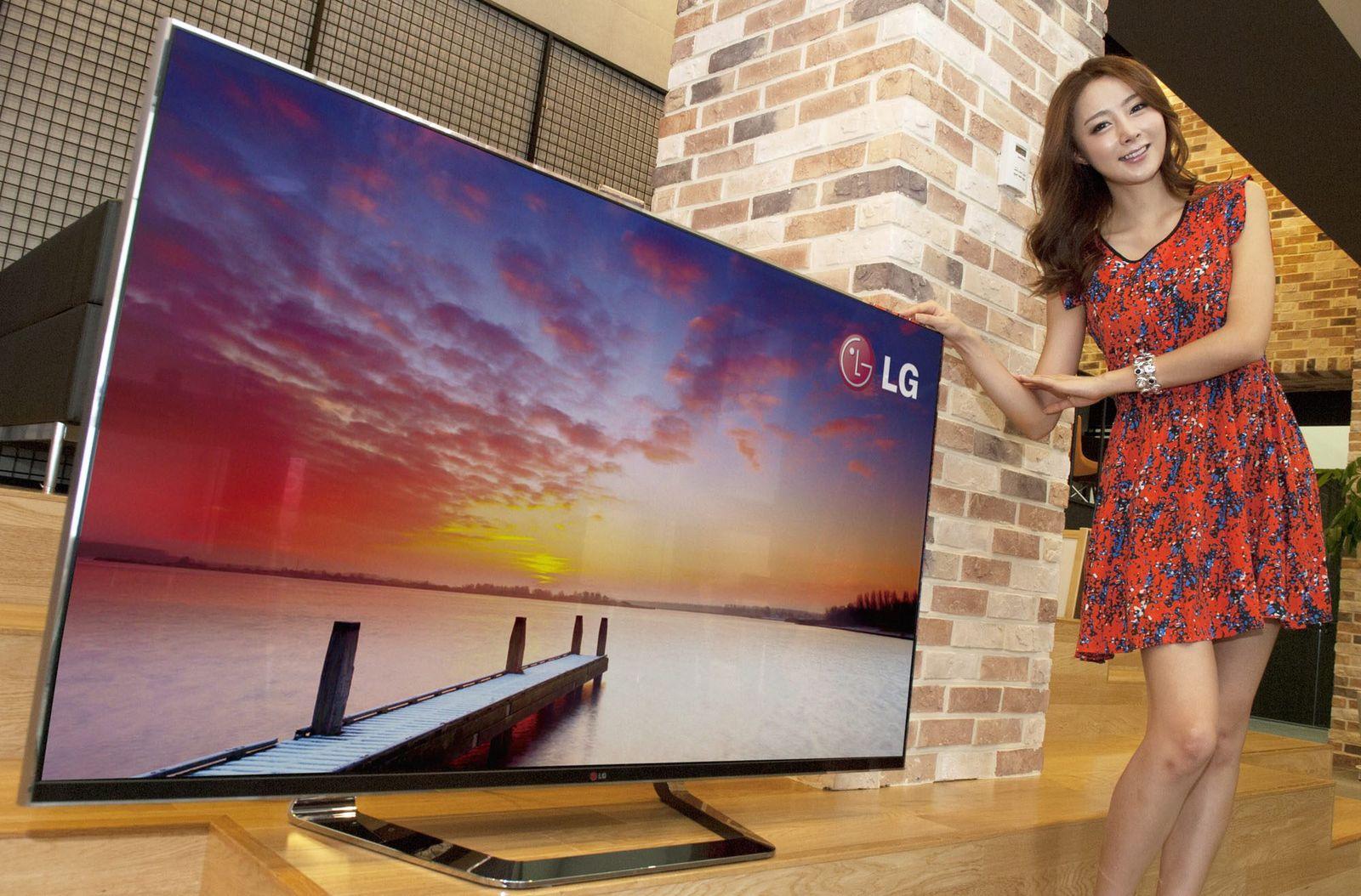 LG 60-inch 3D smart TV