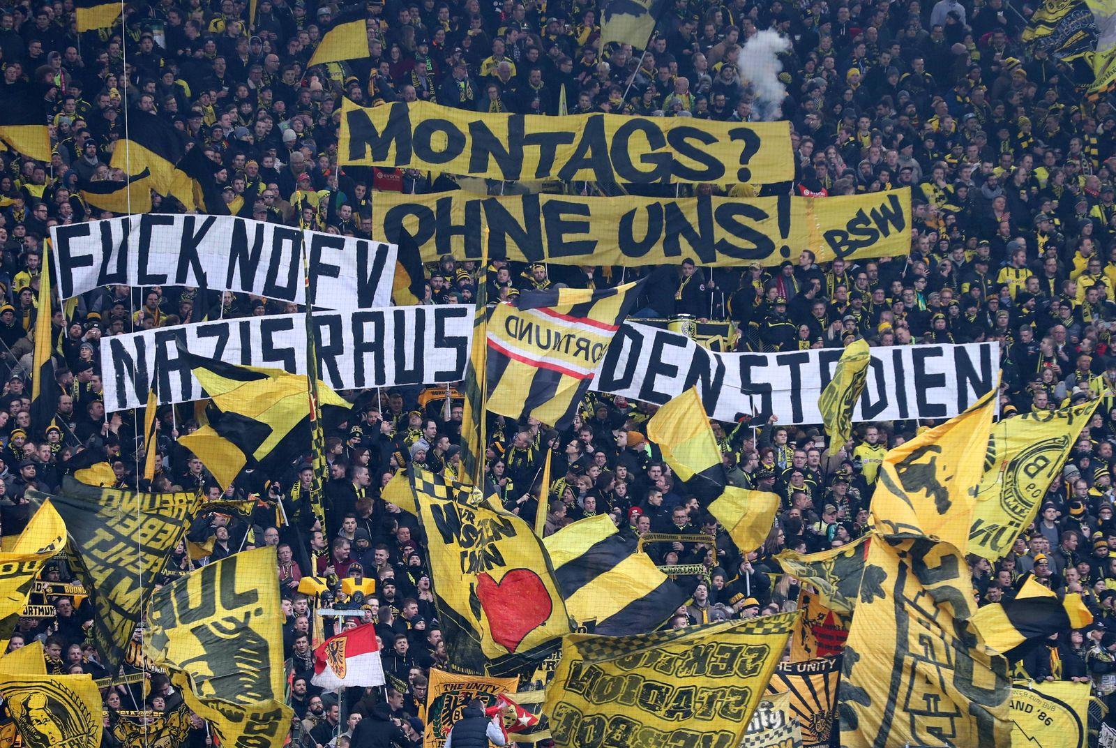 Samstag 10 02 2018 Saison 2017 2018 1 Bundesliga 22 Spieltag im Dortmunder Signal Iduna Park B