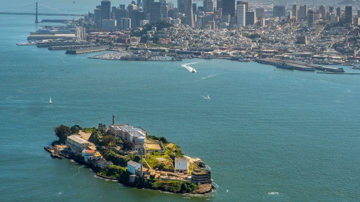US-Gefängnis: Geheimnis unter Alcatraz