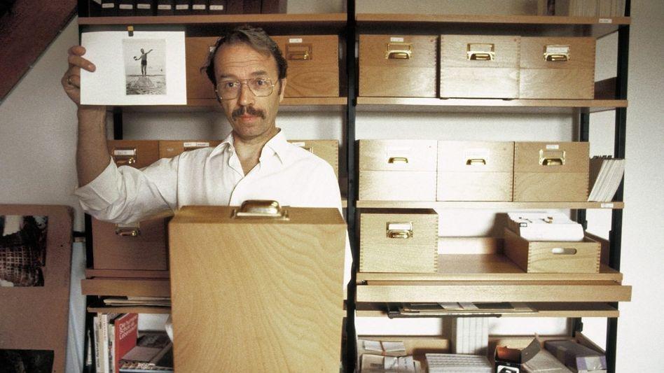 Autor Kempowski in Nartum 1981: »Ich hebe Erzählpartikel auf, wo immer ich sie finde«