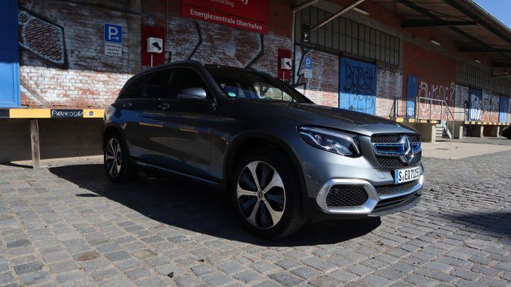 Mercedes GLC F-Cell: Wasserstoffkraft