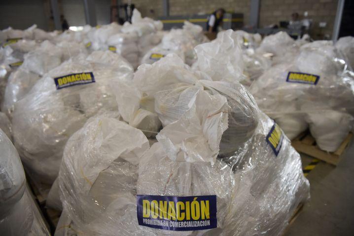 Hilfslieferungen in Cúcuta