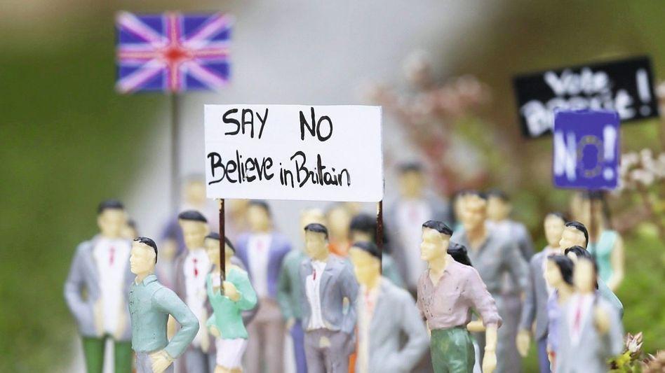 Figuren im Europa-Miniaturpark in Brüssel Der Traum platzt, sobald einer nicht mehr mitträumt