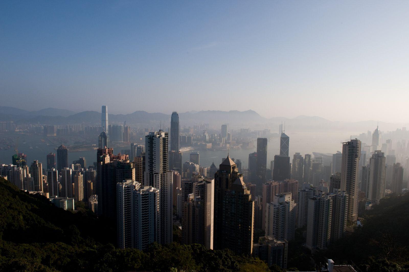 HONGKONG-WEATHER-FOG