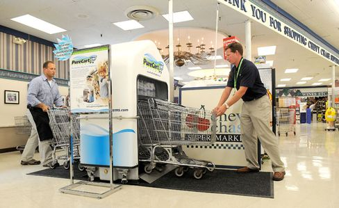 """Einkaufswagen-Waschanlage: """"Ich bin wirklich paranoid"""""""