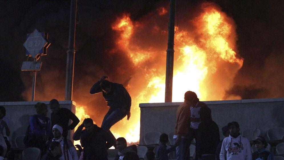 Ausschreitungen nach Fußballspiel: Drama in Port Said
