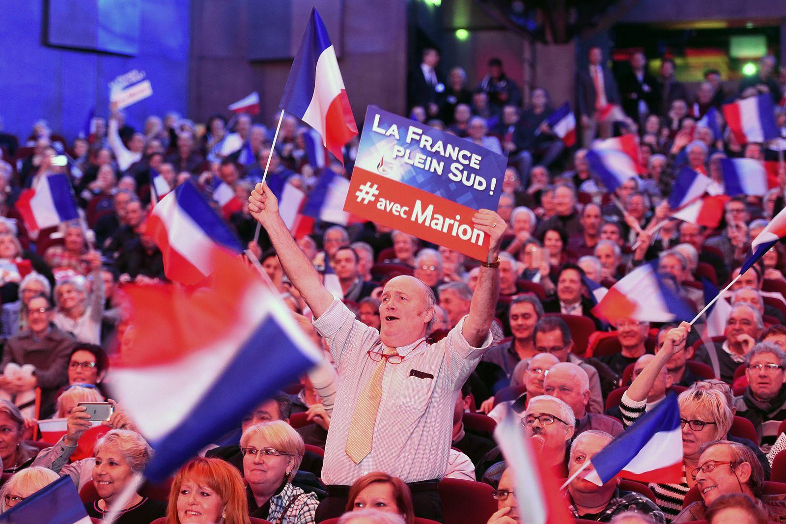 Front National Le Pen Marion