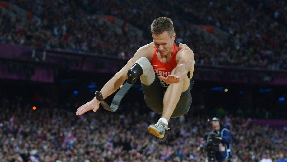 Weitspringer Rehm: Gold bei den Paralympics