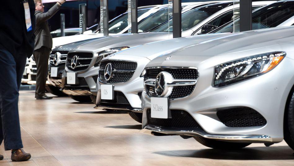 Mercedes-Benz-Modelle in Detroit: Deutsche Oberklasseautos werden wieder häufiger gekauft