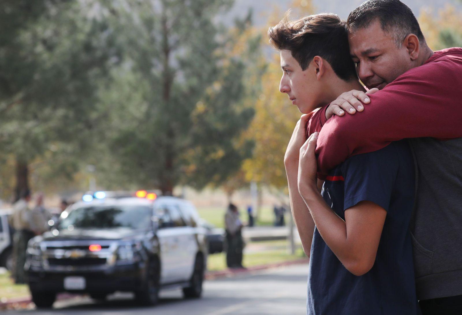 High School Santa Clarita Shooting
