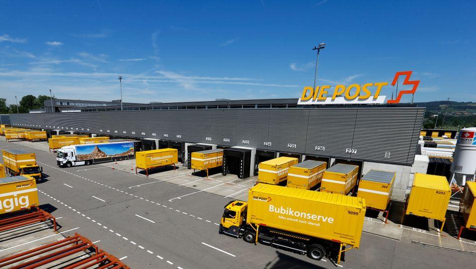 Logistikzentrum der Schweizer Post
