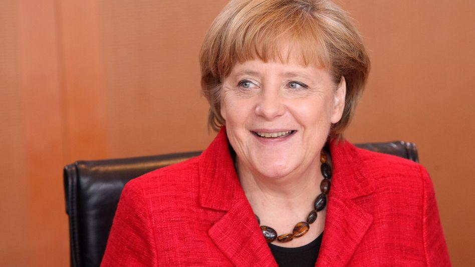 Kanzlerin Merkel: Anhänger stehen geschlossen hinter ihr