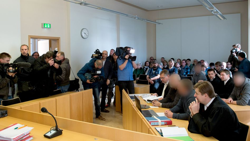 Arnsdorf-Prozess im Amtsgericht Kamenz