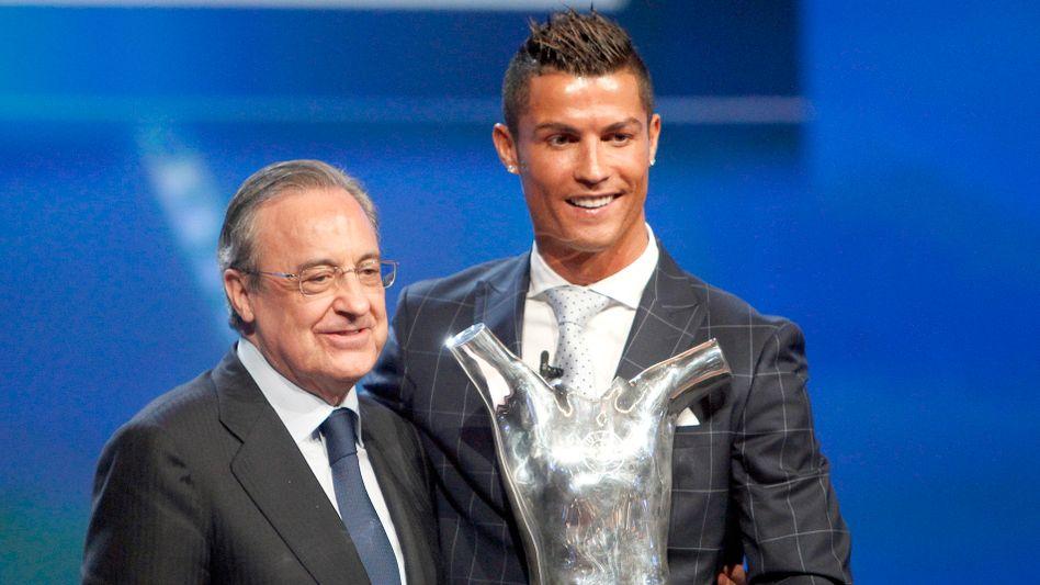 Pérez mit Ronaldo: »Er ist verrückt, ein Schwachkopf, ein Kranker«