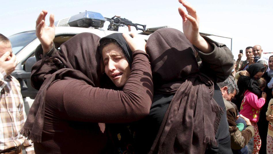 Jesidische Frauen in Kirkuk (Symbolbild): Oft wartet ein Leben in der Sklaverei