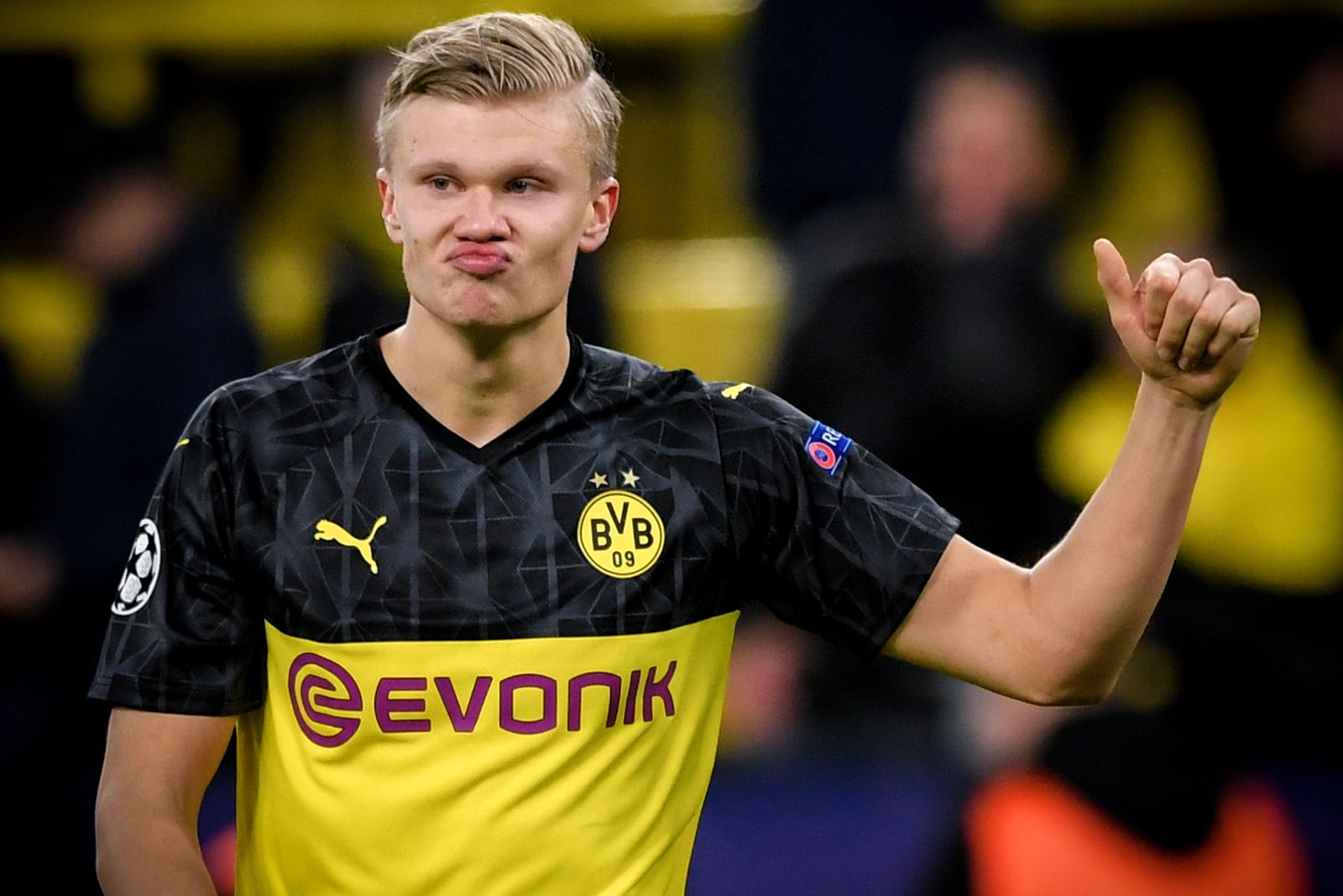Borussia Dortmund vs Paris Saint-Germain, Germany - 18 Feb 2020