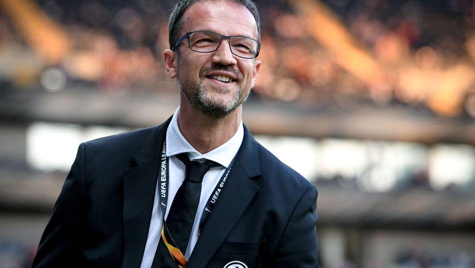 Fredi Bobic, 47 Jahre alt, ist seit 2016 Sportvorstand bei Eintracht Frankfurt